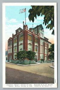 Hatuey Beer Brewery—Santiago de Cuba—Antique Bacardi Cerveceria Postcard 1920s