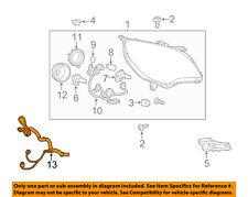 GM OEM Headlight Head Light Lamp-Harness 20976386