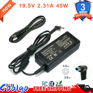 45W Ac Adapter Laptop Charger for HP Stream X360 11 13 14 Series Supply Cord