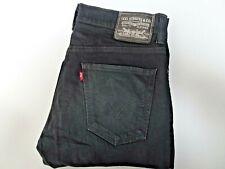 "LEVIS 511 Jeans Skinny Fit Black Stretch Denim SIZE W32 L30 Waist 32"" Leg 30"""