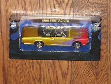 Xtreme Machines 1/43 Gold Pontiac GTO Converible 1966 Flashy Paint MIB