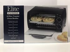 Maxi-Matic Elite Cuisine 4-Slice Toaster Oven Broiler Model Eka-9210B New In Box