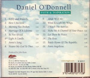 DANIEL O'DONNELL Faith & Inspiration CD   New -    SirH70