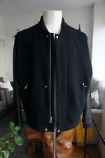 Mens Authentic Shipley & Halmos Wool and Leather Jacket Size XL