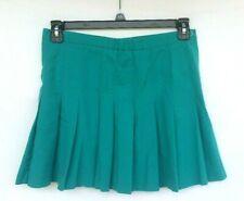 Boast Women's Size 12 Tennis Skirt Pleated Teal Green Athletics