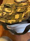 Woodland Camouflage 2 Pocket Canvas Military Ammo Carry Shoulder Bag
