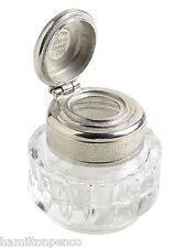 J Herbin Tinta-Transparente De Cristal Con Pulido Peltre de elevación Tapa