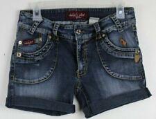 Baby Phat Denim Cut Off Blue Jeans Women's Shorts Size 9 (D36)