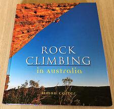 Simon Carter - ROCK CLIMBING IN AUSTRALIA - Hardcover Book - Photographic Work