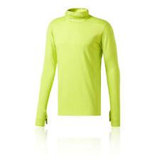 Hauts et maillots de fitness jaunes adidas pour homme