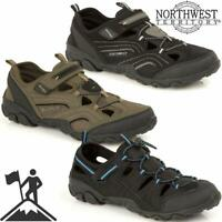 MENS SUMMER SPORTS ADVENTURE CLOSED TOE SANDALS WALKING HIKING TRAIL BEACH SHOES