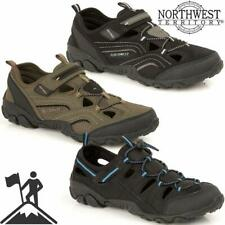 49f279430 MENS SUMMER SPORTS ADVENTURE CLOSED TOE SANDALS WALKING HIKING TRAIL BEACH  SHOES