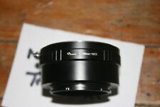 Pixco Nikon F Mount Lens to Sony E mount NEX Lens Adapter