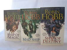 The Liveship Traders Trilogy #1-3: Books by Robin Hobb (Complete Series Set)
