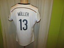 "Deutschland ""DFB"" Adidas Damen WM Sieger Trikot 2014 + Nr.13 Müller Gr.46-48 TOP"