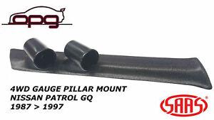 SAAS Pillar / Pod for Nissan GQ Patrol Y60 1987-1997 Holder / Mount 52mm Gauges