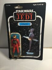 Original Kenner Star War B-Wing Pilot Figure On 79 Back Card