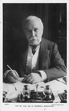 POSTCARD   POLITICS    Rt  Hon  Sir  H  Campbell   Bannerman