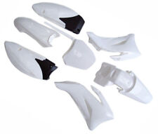 7Pcs White Plastics Fender Kit for Yamaha TTR110 TTR 110 Dirt BIke Motorcycle US