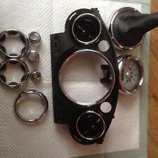 Mini R50 9 Piece Chrome Bezel Kit