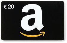 20,00€ Amazon Gutschein Gutscheincode Code Voucher Einkaufsgutschein Coupon