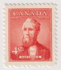 1952 Canada - Mackenzie, Canadian Prime Ministers - 4 Cent Stamp