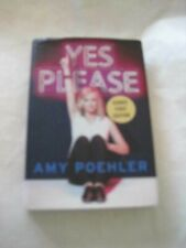 Signed! Amy Poehler Yes Please Hcdj Parks & Recreation Star Snl Upright Citizens