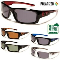 Men's Polarized Sunglasses - Nitrogen - Wrap Around Frame - Polarised Lens