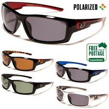 Men's Polarized Sunglasses - Nitrogen - Wrap Around Frame - Polarised Lens