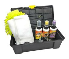 Automotive Car Care Detailing Kit with Carrying Case (whthg)