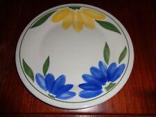 Staffordshire England Dinner Plate Bold Flower Design