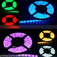 RGB Color Flexible LED Light Strip(60 SMD 5050 leds/m waterproof IP66) 5m/roll