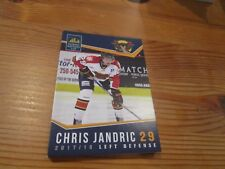 2017-18 VERNON VIPERS CHRIS JANDRIC BCHL SINGLE PLAYER CARD