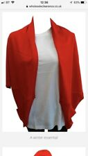 Ladies 100% Cashmere Blend Red Cardigan BNWOT