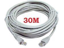30M metros de cable Ethernet RJ45 Network una rápida velocidad de plomo de Internet Xbox PS3 4 CAT5
