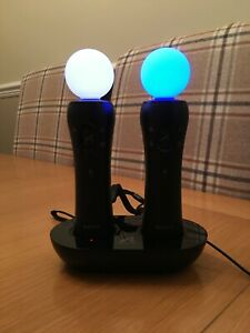Sony Playstation 4 VR Move Controller Twin Plus Charging dock