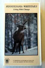 Pennsylvania Whitetails - Living With Change ~ Deer VHS Movie Video ~ Wild Game