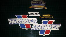 Italjet Vintage sticker kit m5 mm5 mm5b 80s scrambler bike restoration