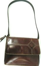 Rolfs Women Leather Handbag Brown 12.5 Inch Strap Drop.  JAJ 5