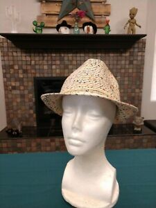Colorful Straw Hat, new with tags