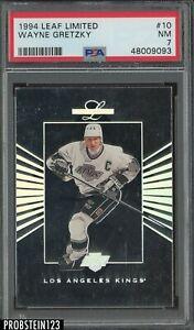1994 Leaf Limited Hockey #10 Wayne Gretzky Kings HOF PSA 7 NM
