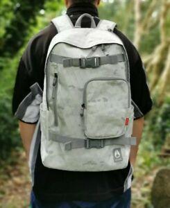 Nixon Backpack 20 Litre Bag Snow Camo Skating Hiking Travel Rucksack