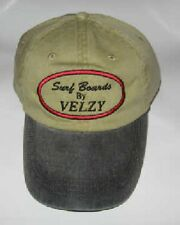 Velzy Hat - Khaki with Black Brim