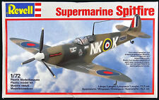 Supermarine Spitfire Revell 1:72 Scale Model Kit NIB Aircraft WWII Airplane MKII