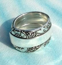 Towle Silversmiths Sterling  CANDLELIGHT Serving Size Spoon Ring