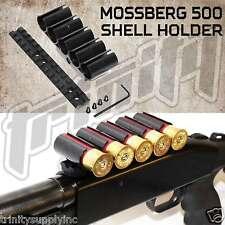Mossberg 500 590 5 Round Shot Shell Holder Polymer Black, 12 gauge mossberg 500