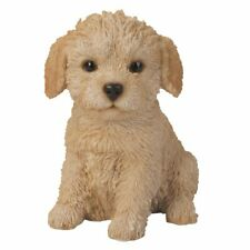 "Sit Up Labradoodle Puppy Dog Pet Pal 6.5""H Figurine Statue Labrador and Poodle"