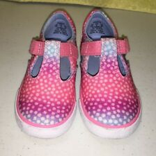 KEDS Daphine Memory Foam Sneakers Shoes Girl's TODDLER SIZE - 7 PINK GLITTER NEW