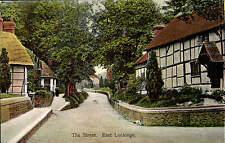 East Lockinge. The Street by Tomkins & Barrett.
