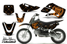 Decal Graphic Kit Wrap + # Plates For Kawasaki KLX 110 02-09 KX 65 02-18 SSR O K